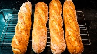 Download How to make French Baguettes at home Video