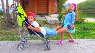 Download Камиль ХОЧЕТ Быть МАЛЕНЬКИМ! НЕ ПОДЕЛИЛИ Коляску... Для Детей kids children Video