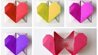 Download Easy Origami Heart-Box for Valentine's Video