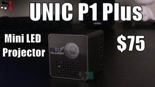 Download UNIC P1+ Mini LED Projector: REVIEW, Unboxing and Testing Video