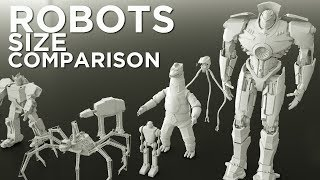 Download Robots Size Comparison (Movies) Video