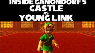 Download Ocarina of Time 3D Major Glitch #2: How to enter Ganondorf's Castle as Young Link Video