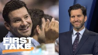 Download Will Cain says Tony Romo should be Cowboys' head coach   First Take   ESPN Video