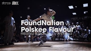 Download FoundNation vs Polskee Flavour [crew finals] // .stance // Freestyle Session 2016 x UDEFtour.org Video