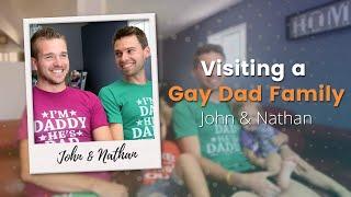 Download Visiting a Gay Dad Family: John and Nathan Video