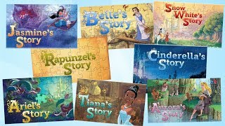Download Disney Princess Story Jigsaw Puzzle COMPILATION Games for kids Video