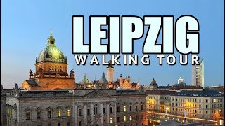 Download Leipzig Germany | A Walking Tour of City Centre Video