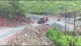 Download 12V71 Kenworth Hauling Massive Crusher Video