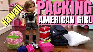 Download Packing American Girl For Hawaii Video