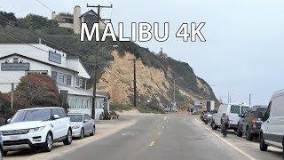 Download Driving Downtown - Malibu Billionaire's Beach 4K - USA Video