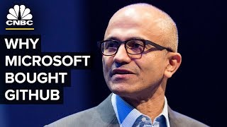 Download Satya Nadella Talks Microsoft GitHub Acquisition Video