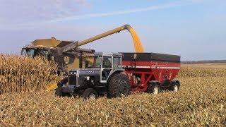 Download Iowa Corn Harvest with Big Tractor Power Video