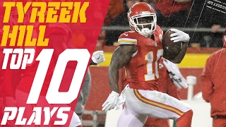 Download Tyreek Hill's Top 10 Plays of the 2016 Season | NFL Highlights Video
