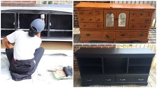 Download DIY | Entertainment Center (Furniture Makeover) Video