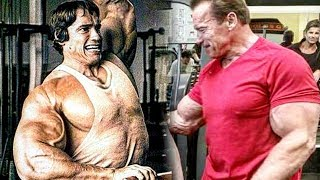 Download Arnold Schwarzenegger Gym Training In 2019 - Still Working Out Strong At 71 Years Old Video