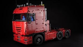 Download Lego Technic Tractor Truck Video