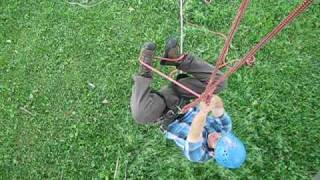Download Tree Climbing: Ascending with Doubled Rope Technique Video