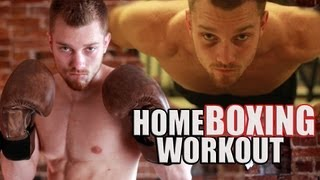 Download Home Boxing Workout Routine Video