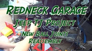 Download Jeep Wrangler TJ - Front End Reassembly - Ball Joints - Neighbor Video