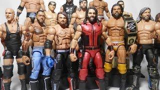 Download WWE Mattel Summerslam 2017 Elite Figures! Seth Rollins AJ Styles Jinder Mahal Video