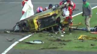Download 2013 Ferrari 458 Horror crash at Suzuka Video