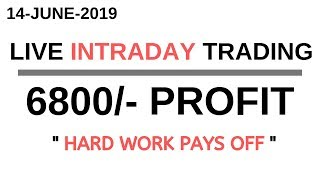 Download LIVE INTRADAY TRADING|| 14 JUNE 2019|| Video