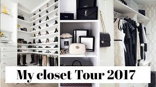 Download Closet Tour 2017 | Luxury Glam Closet Tour 2017 Video