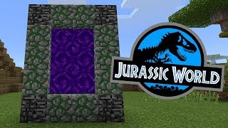 Download How To Make a Portal to the Jurassic World Dimension in Minecraft Pocket Edition Video