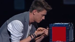 Download Americas Got Talent Finalist MAGICIAN USES TWITTER TO PREDICT THE FUTURE | Collins Key Video