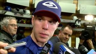 Download ARCHIVE: Oilers Pre-Game Interviews vs. Maple Leafs Video