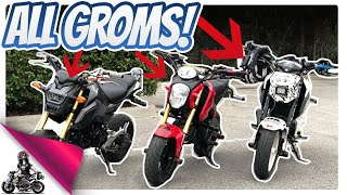 Download Every Honda Grom is DIFFERENT! 2018 Smoky Mountain Crawl Plans Video