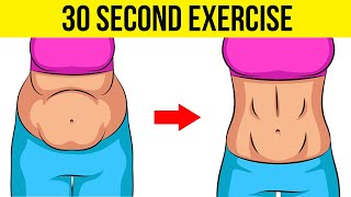 Download Just 30 Second Exercise will Tighten Your Belly in 3 Weeks | How To Lose Belly Fat Fast #HealthPedia Video