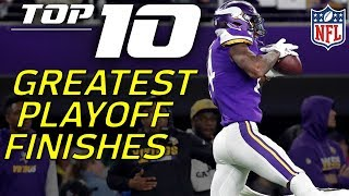 Download Top 10 NFL Playoffs Finishes of All-Time | NFL Highlights Video