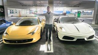Download Driving Floyd Mayweathers Ferrari! Video