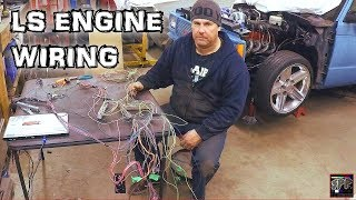Download Hotrod Standalone Fuel Injection ECM Wiring + Rob blows a gasket | Turbo 5.3 LS S-10 Budget build Video