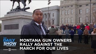 Download Montana Gun Owners Rally Against the March For Our Lives | The Daily Show Video