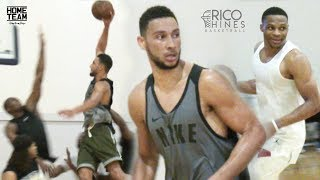 Download Ben Simmons at Rico Hines UCLA Run! Russell Westbrook, Marvin Bagley, Tristan Thompson Video