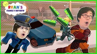 Download Roblox Team Police Officer Chase Battle! Let's play with Ryan's Family Review Video