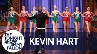 Download Kevin Hart Makes a Spectacular Tonight Show Entrance with Radio City Rockettes Video