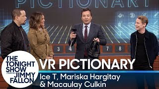 Download Virtual Reality Pictionary with Ice T, Mariska Hargitay and Macaulay Culkin Video