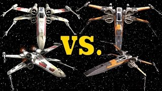 Download Rebel T-65 X-Wing vs. Resistance T-70 X-Wing - X-Wing Starfighter Comparison Video