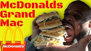 Download Black Man Tries McDonalds Grand Mac For The First Time Video
