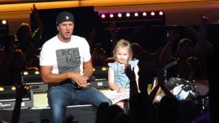 Download 5 Year Old Bella Steals the Show and 'Kills the Lights' with Luke Bryan Video