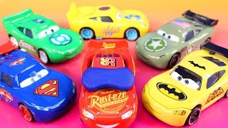 Download Disney Pixar cars 3 Lightning McQueen Dreams Jackson Storm Rescue Imaginext Batman Hulk Smash Video
