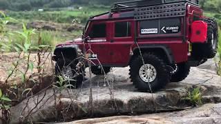 Download Traxxas TRX-4 LandRover Defender - Rock Trail Video