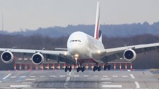 Download Airbus A380 CROSSWIND Difficulties - Storm ″Axel″ Video