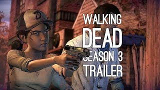 Download The Walking Dead Season 3 Game Trailer - Teen Clem and Javier (E3 2016) Video