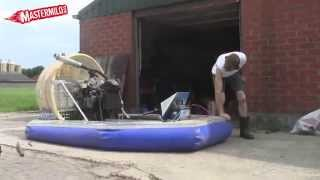 Download Home made Hovercraft 1st test Video