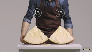 Download Parmigiano Reggiano: The art of cutting by hand Video