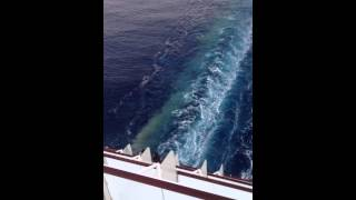 Download Celebrity Cruise Dumps Waste Into Mediterranean Sea! Video